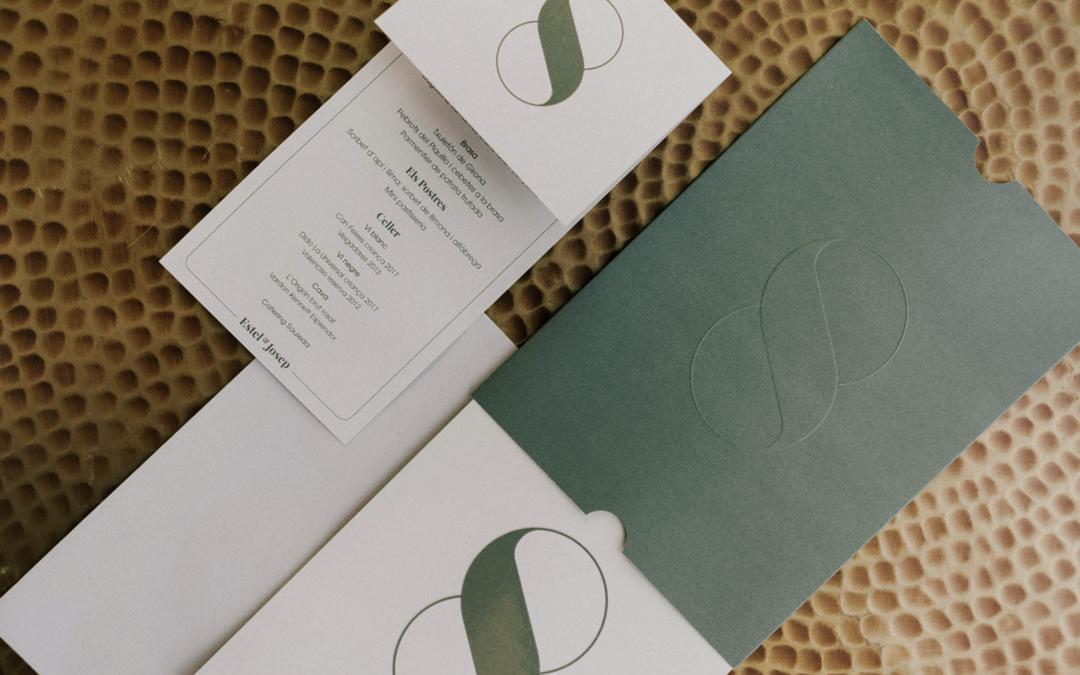 Papelería de la boda: Diseño y Colores